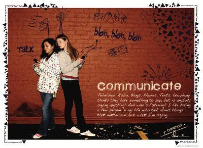 Communicate-Jeanne Stevenson-Art Print
