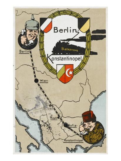 Communication Between Berlin and Istanbul--Giclee Print