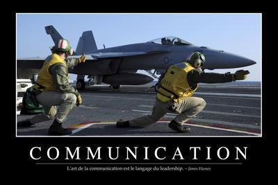 Communication: Citation Et Affiche D'Inspiration Et Motivation--Photographic Print