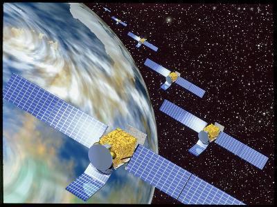 Communication Satellites-Mehau Kulyk-Photographic Print