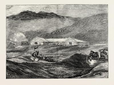 Communication with the Shore at Dui, 1890--Giclee Print