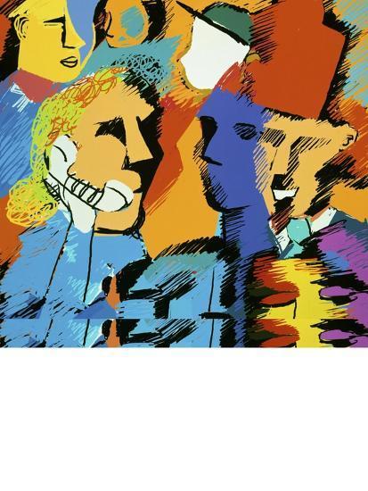 Communication-Diana Ong-Giclee Print