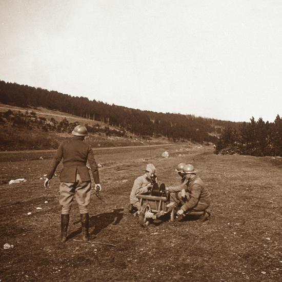 Communications, Genicourt, northern France, c1914-c1918-Unknown-Photographic Print