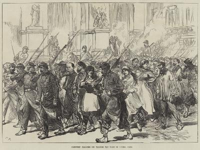 Communist Prisoners Led Through the Place De L'Opera, Paris--Giclee Print