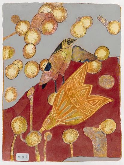 Community Garden 1-Maria Pietri Lalor-Giclee Print