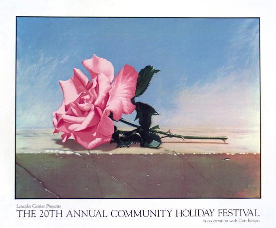 Community Holiday Festival, 1990-John Kelley-Serigraph
