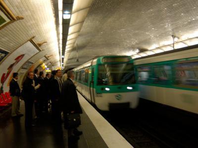 Commuters Inside Metro Station, Paris, France-Lisa S^ Engelbrecht-Photographic Print
