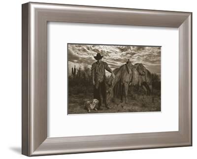 Compadres-Barry Hart-Framed Art Print