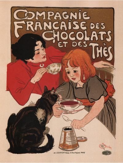 Compagnie Francaise Des Chocolats Et Des Thes-Theophile Alexandre Steinlen-Art Print