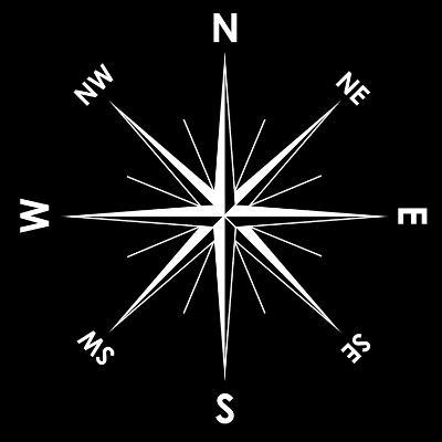 Compass Rose, Artwork-Mikkel Juul-Photographic Print