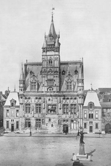 'Compiegne: The Hotel de Ville', 1914-Unknown-Photographic Print