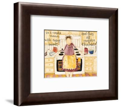 Complex Woman Humor-Dan Dipaolo-Framed Art Print