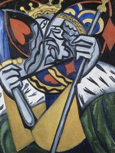 Composed Image of Kingsc-Olga Vladimirovna Rozanova-Giclee Print