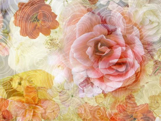 Composing with Blossoms and Floral Ornaments-Alaya Gadeh-Photographic Print