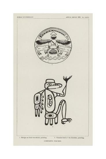 Composite Figures--Giclee Print