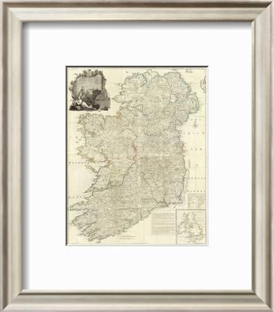 Composite Ireland C 1790 Art Print John Rocque Art Com