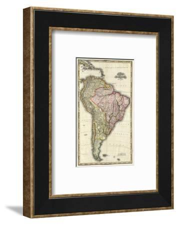 Composite: South America, West Indies, c.1823-Henry S^ Tanner-Framed Art Print