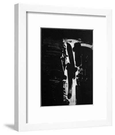 Composition 051-André Marfaing-Limited Edition Framed Print