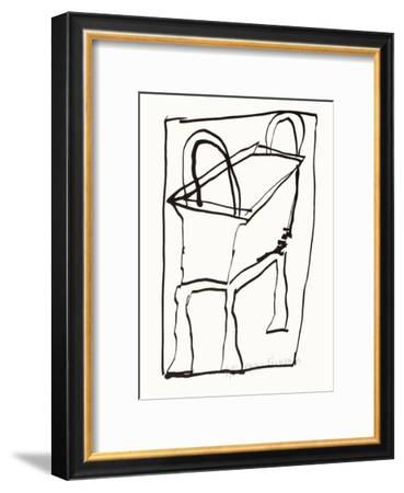 Composition 126-Jean-pierre Pincemin-Framed Limited Edition