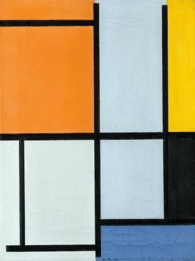 Composition 1921-Piet Mondrian-Giclee Print