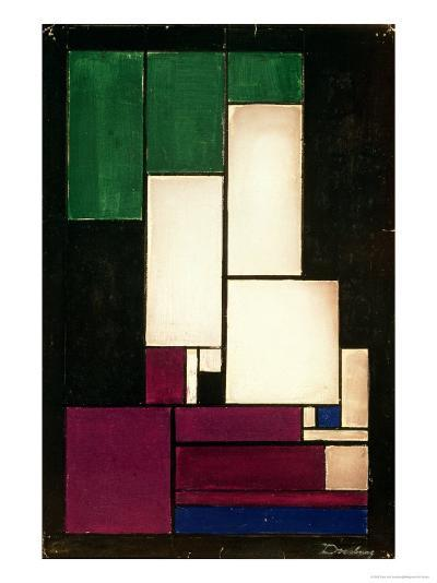 Composition, 1922-Theo Van Doesburg-Giclee Print