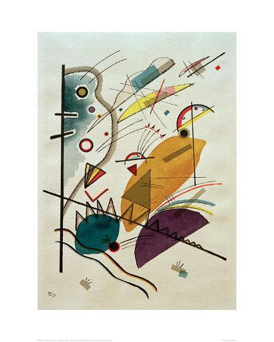 Composition, 1923-Wassily Kandinsky-Giclee Print