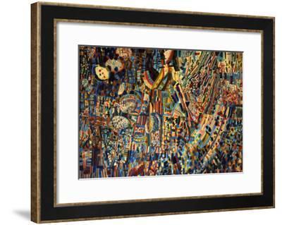 Composition, 1930-Pavel Nikolayevich Filonov-Framed Giclee Print