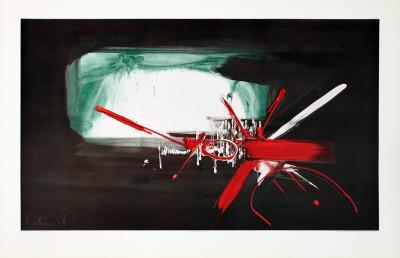 Composition (1958)-Georges Mathieu-Art Print