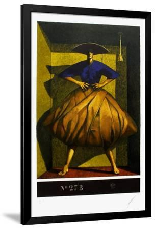 Composition 27 B-Yves Clerc-Framed Premium Edition