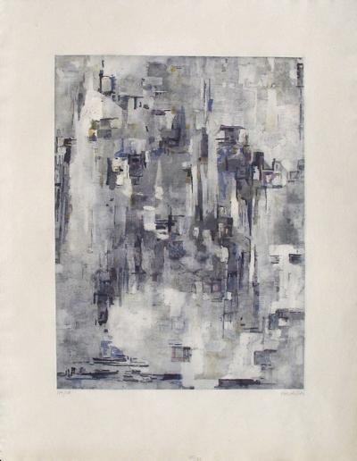 Composition 43-Maria Elena Vieira Da Silva-Limited Edition