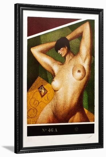 Composition 46 A-Yves Clerc-Framed Premium Edition