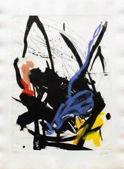 Composition Abstraite I-Jean Miotte-Limited Edition