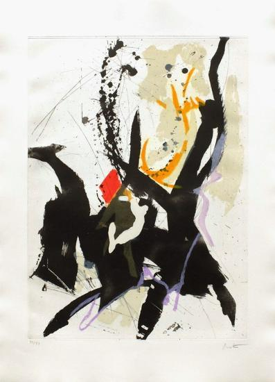 Composition Abstraite II-Jean Miotte-Limited Edition
