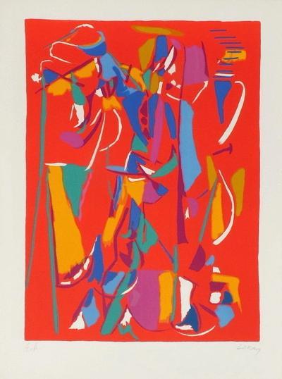 Composition abstraite IV-Andr? Lanskoy-Premium Edition