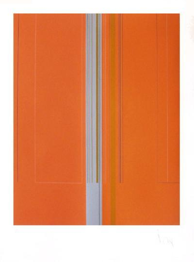 Composition Abstraite IX-Luc Peire-Limited Edition