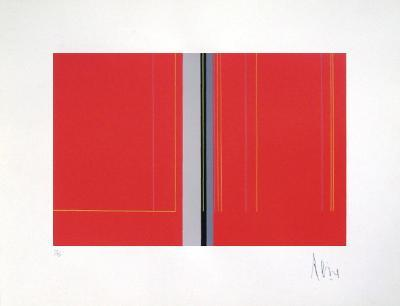 Composition Abstraite VII-Luc Peire-Limited Edition