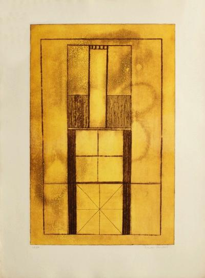 Composition Abstraite-Francois Houdart-Limited Edition