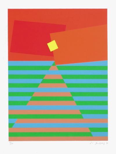 Composition Abstraite-Li Jagyong-Limited Edition