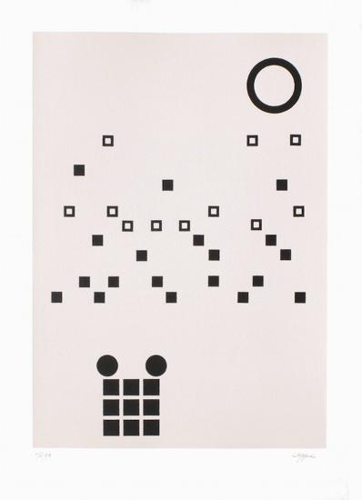 Composition abstraite-Jean Leppien-Limited Edition