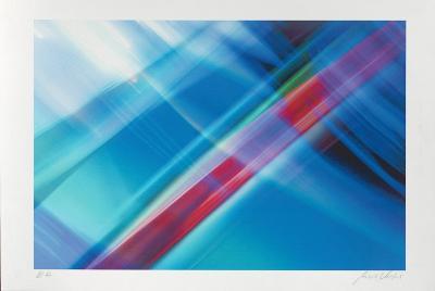Composition Blau, c.2002-Norbert Schäfer-Limited Edition