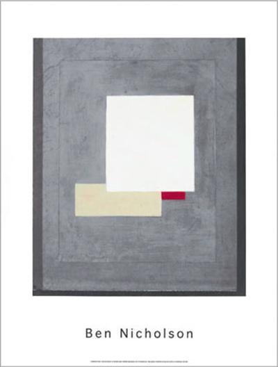 Composition, c.1935-38-Ben Nicholson-Serigraph