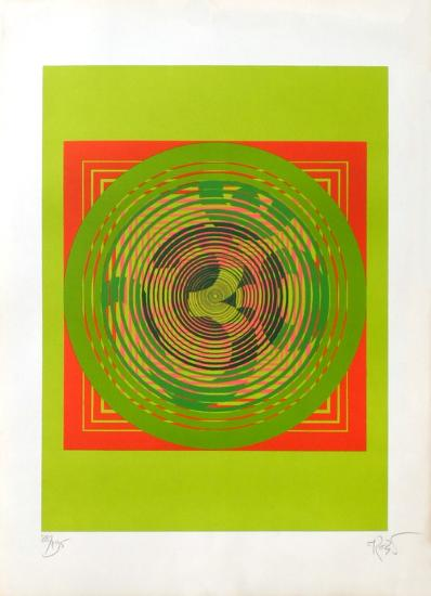 Composition cinétique-Narendra Srivastava-Limited Edition