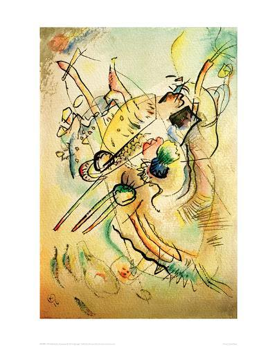 Composition D, 1916-Wassily Kandinsky-Giclee Print