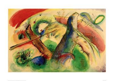 Composition E, 1916-Wassily Kandinsky-Giclee Print