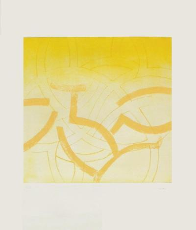 Composition en jaune-Monique Frydman-Limited Edition