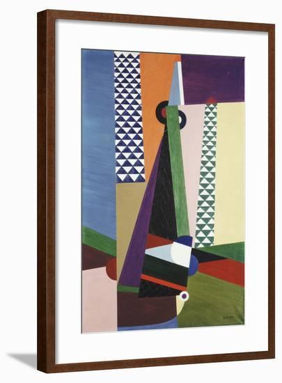 Composition Geometrique, 1922-Georges Valmier-Framed Giclee Print