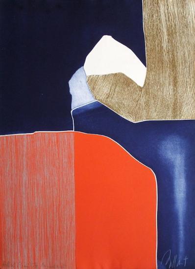Composition I-Gilou Brillant-Collectable Print
