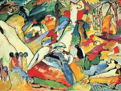 Composition II Sketch, 1910-Wassily Kandinsky-Art Print