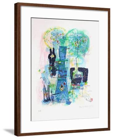 Composition II-Shoichi Hasegawa-Framed Premium Edition