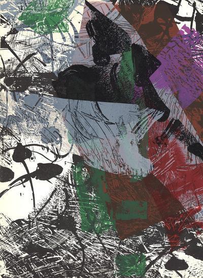 Composition III-171-Jean-Paul Riopelle-Art Print